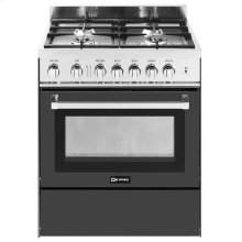 "Black 30"" Gas Range"