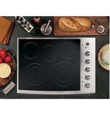 "GE Profile™ Series 30"" Built-In Electric Cooktop"