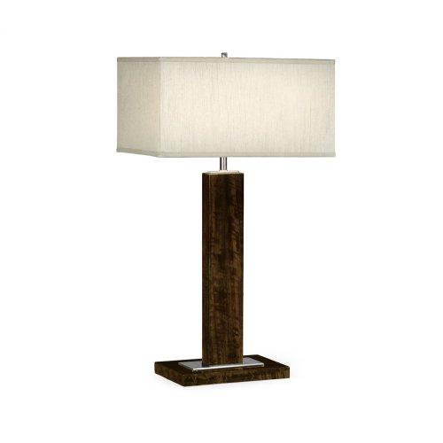 Black Eucalyptus Rectangular Table Lamp