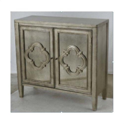2-door Cabinet With Antique Mirror