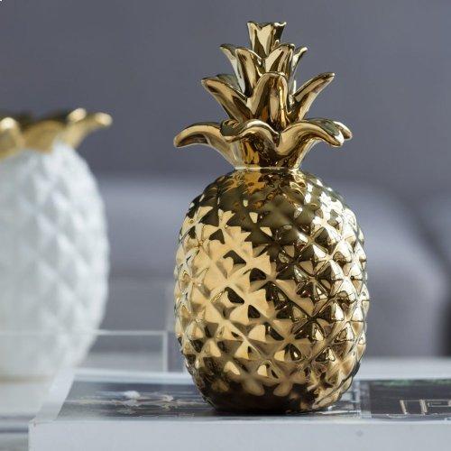Ceramic Pineapple Accent
