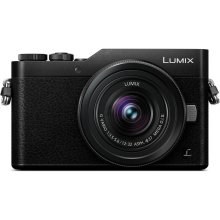 LUMIX GX850 4K Mirrorless ILC Camera, 12-32mm Mega O.I.S. lens kit, 16 Megapixels, 4K 30p Video, 4K PHOTO, WiFi - DC-GX850K - BLACK