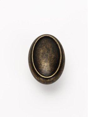 Classic Traditional Oval Knob A1560 - Barcelona