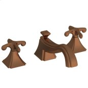 Antique-Copper Widespread Lavatory Faucet