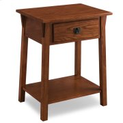 Mission Night Stand with Drawer #9066-RS Product Image