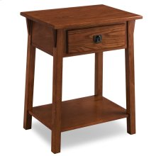 Mission Night Stand with Drawer #9066-RS