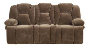 Emerald Home Caressa Motion Sofa Brown U7052-00-05