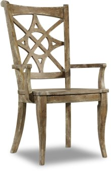 Melange Rafferty II Arm Chair