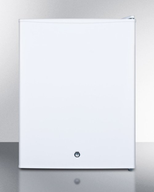 Compact All-refrigerator With Automatic Defrost, Front-mounted Lock, and White Finish; Replaces Ff28l