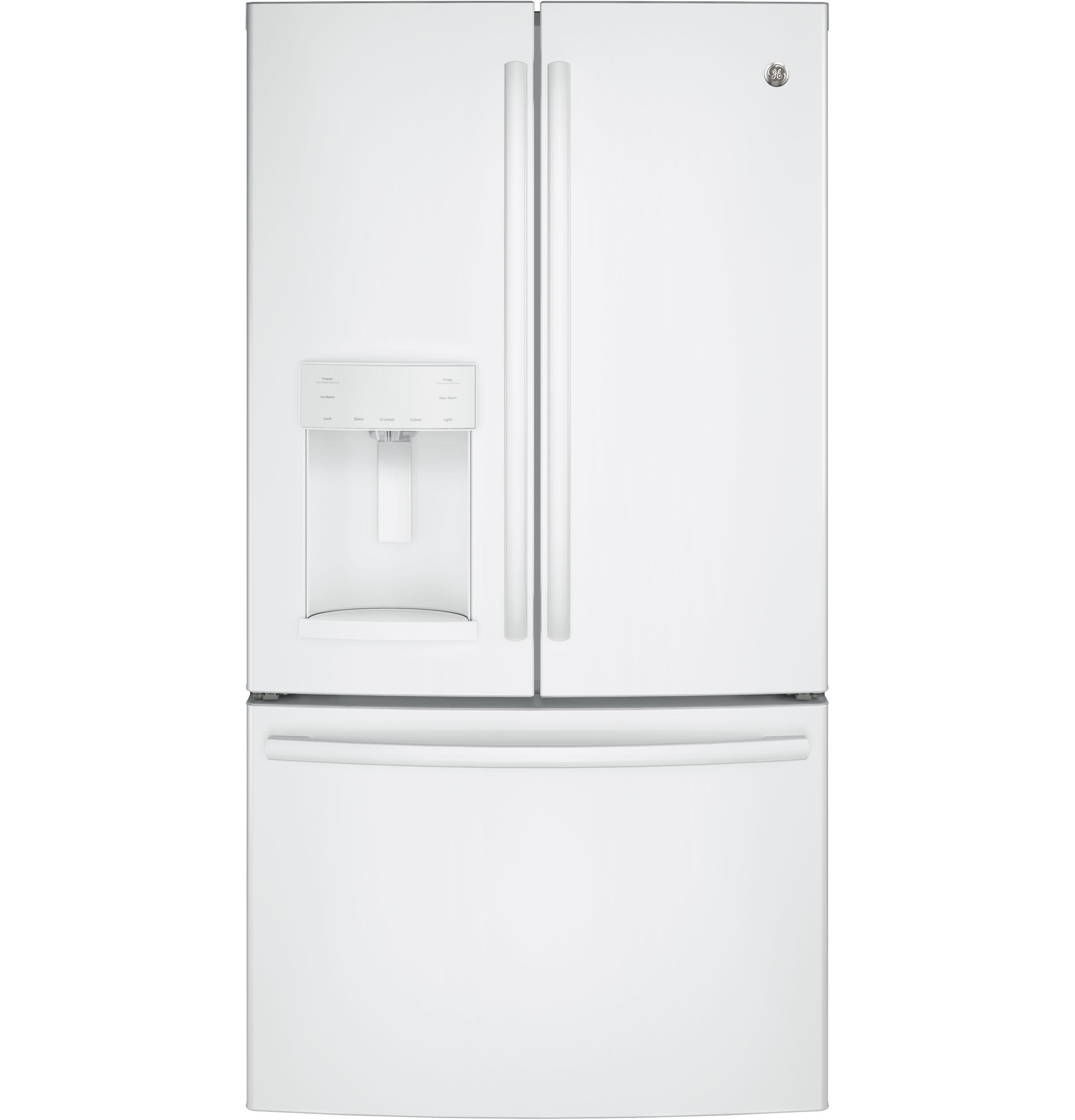 Gfe26ggkwwge Ge R Energy Star R 25 8 Cu Ft French Door