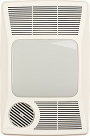 Heater/Fan/Light, 1500W Heater, 27W Fluorescent Light, 100CFM Product Image