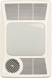 Heater/Fan/Light, 1500W Heater, 27W Fluorescent Light, 100CFM