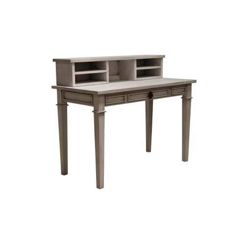 Desk, Available in Distressed White or Distressed Grey Finish.