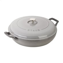 Staub Cast Iron 3.75-qt Braiser, Graphite Grey