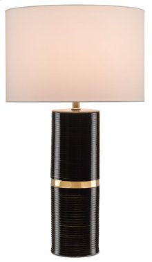 Enzo Black Table Lamp