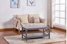 6603 Gray Coffee Table