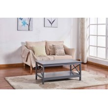 6603 Gray Coffee Table