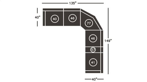 LAF Zero Wall Recliner