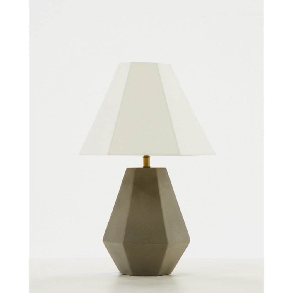 Modrest Estrada Modern Concrete Table Lamp