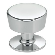 Modern Cabinet Knob in US26 (Polished Chrome Plated)