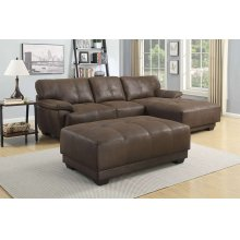 Cooper Sectional & Ottoman, SWU8070