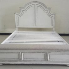 Queen Panel Storage Bed, Dresser & Mirror