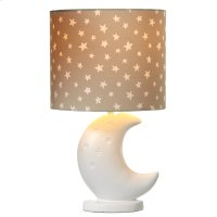 Moon Accent Lamp with Star Shade. 40W Max. Product Image
