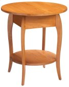 Round End Table Product Image