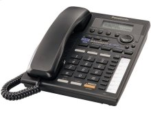 2-Line Integrated Phone System with Intercom, Black
