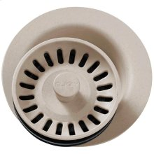 """Elkay Polymer 3-1/2"""" Disposer Flange with Removable Basket Strainer and Rubber Stopper Putty"""