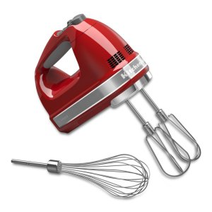KitchenAid7-Speed Hand Mixer - Empire Red