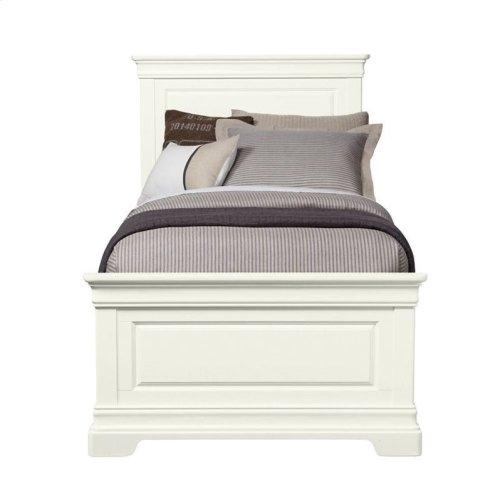 Teaberry Lane Stardust Twin Panel Bed