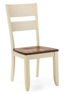 Ladder Back Side Chair (buttermilk)