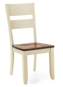 Ladder Back Side Chair (buttermilk)