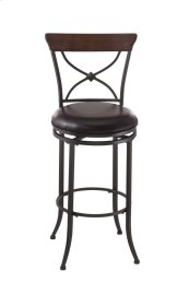 Cameron X-back Swivel Counter Stool