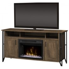 Tyson Media Console Electric Fireplace