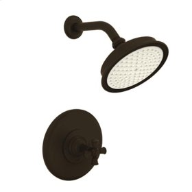 Oil-Rubbed-Bronze Balanced Pressure Shower Trim Set