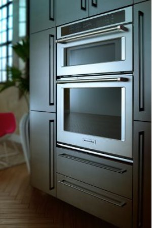 """30"""" Combination Wall Oven with Even-Heat™ True Convection (Lower Oven) - White"""