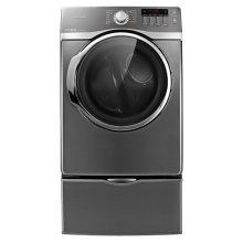 7.4 cu. ft. Super Capacity Electric Front-Load Dryer (Platinum)