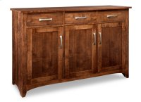 Glengarry Sideboard w/3 Wood Doors & 3/Drws & 1/Wood Halfshelf Product Image