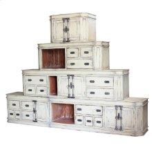 Bankside stacked cabinet