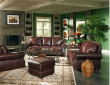 Deacon Love Seat, Cabernet