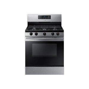 Samsung Appliances5.8 cu. ft. Freestanding Gas Range in Black Stainless Steel
