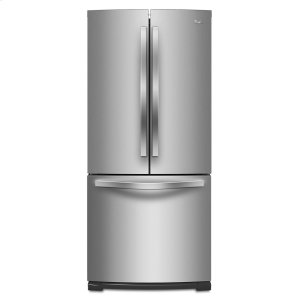 30-inch Wide French Door Refrigerator - 19.7 cu. ft. - MONOCHROMATIC STAINLESS STEEL