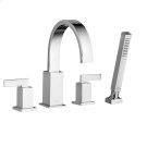 Times Square Deck-Mount Bathtub Faucet w/ Personal Shower  American Standard - Polished Chrome Product Image
