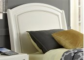 Twin Leather Headboard