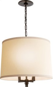 Visual Comfort BBL5030BZ-L Barbara Barry Westport 4 Light 24 inch Bronze Hanging Shade Ceiling Light