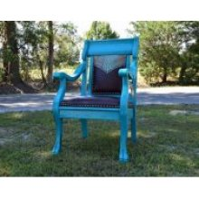 Cowgirl Spirit Turquoise Chair