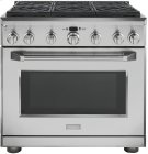 """GE Monogram® 36"""" Dual-Fuel Professional Range with 6 Burners (Natural Gas) Product Image"""