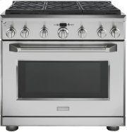 "Monogram 36"" Dual-Fuel Professional Range with 6 Burners (Natural Gas) Product Image"